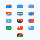 Oceanian Country Flags