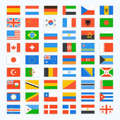 Photo Flag of world.