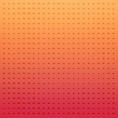 Red plastic Dotted cartoon background, texture, grill pattern