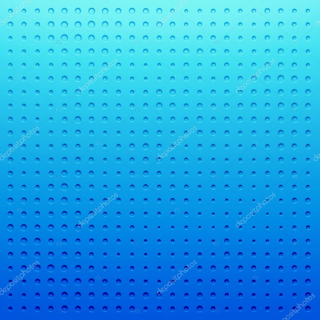 Blue plastic Dotted cartoon background, texture, grill pattern