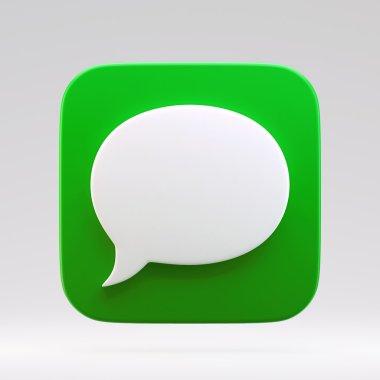 3D Chat Bubble