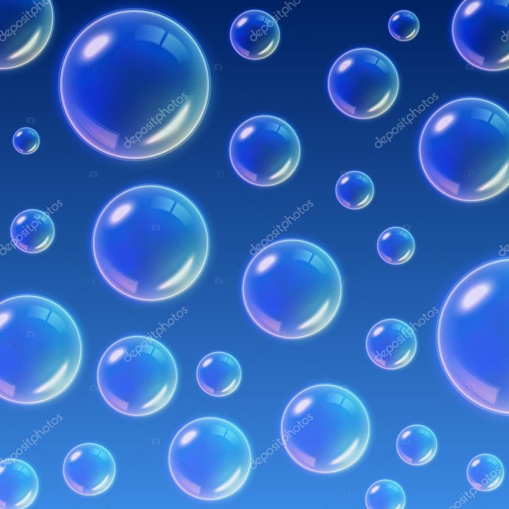 08e88d8efc7 Fundo transparente multicoloridos bolhas de sabão. Ilustração vetorial —  Vetores de Stock