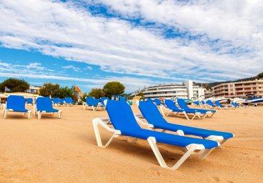Tossa de Mar Beach. Costa Brava, Spain.