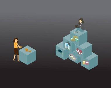 Economic disparity or differences in income