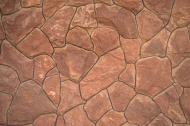 Beige and brown wall and floor tiles