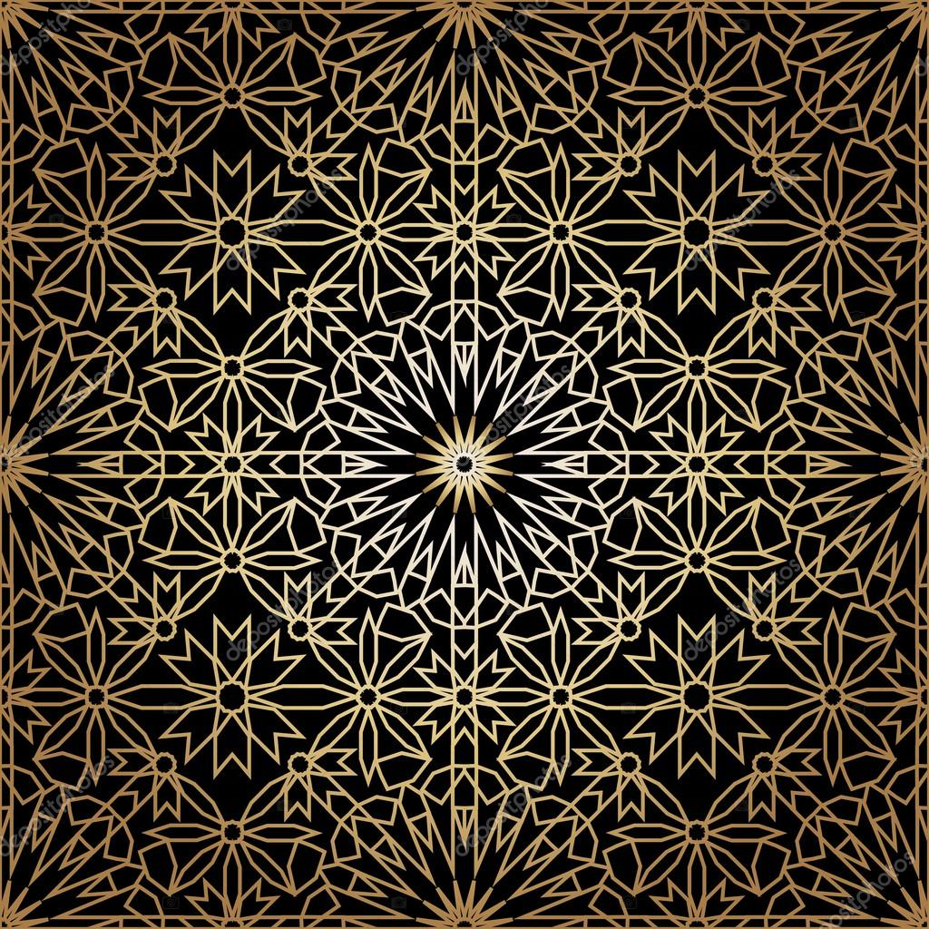 Ornamental morocco seamless pattern. Orient traditional ...