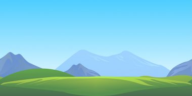 Horizontally seamless game background