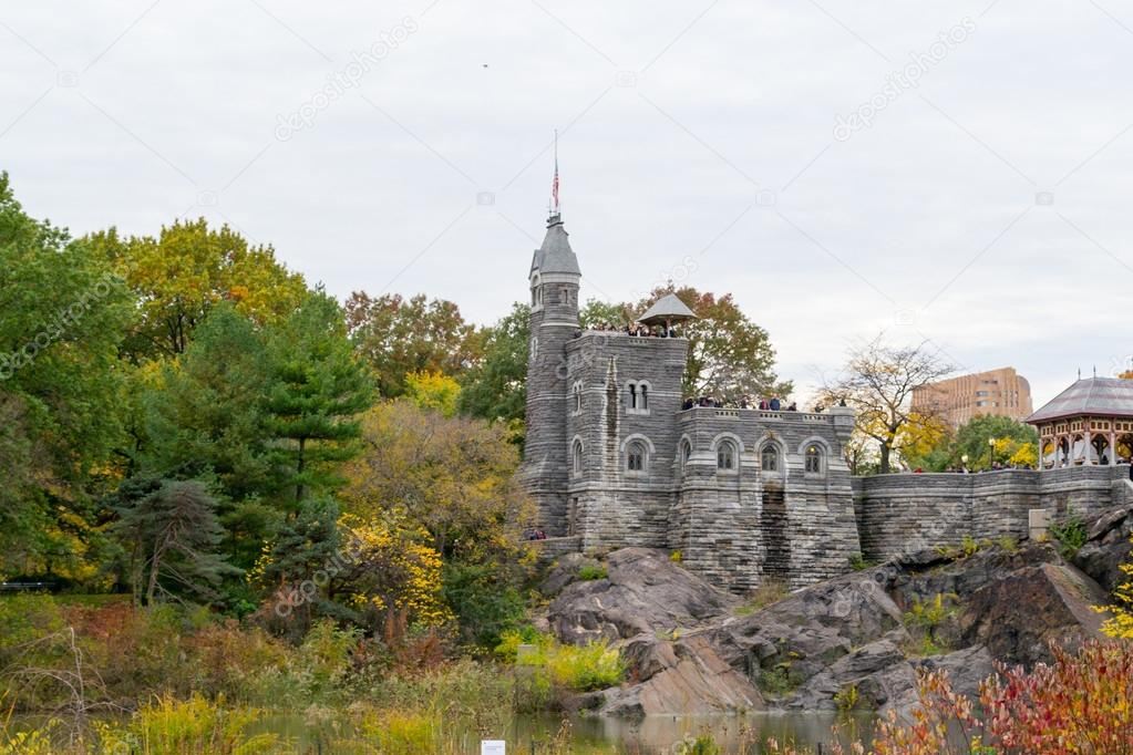Belvedere castle and turtle lake