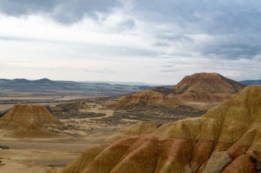 Views of the Bardenas Reales