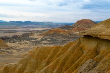 From the tip in Bardenas
