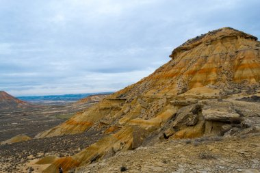 Colorful rocks in Bardenas