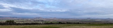 Panorama of Bardenas Reales