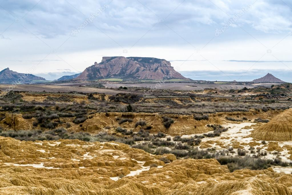 Plateau in Bardenas Reales