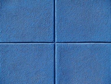 Four Blue Squares