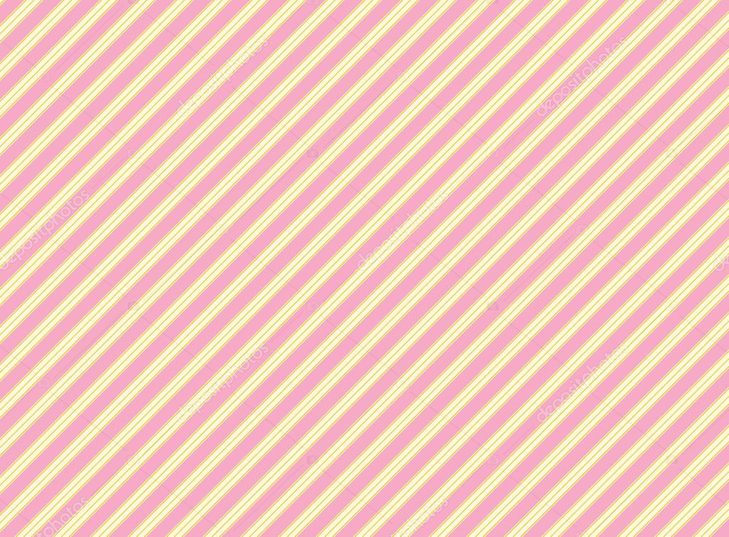 Vector Diagonal Swatch Striped Fabric Wallpaper In Pink Gold And Ecru That Matches Valentine Borders