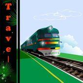 Fotografie Train, railway