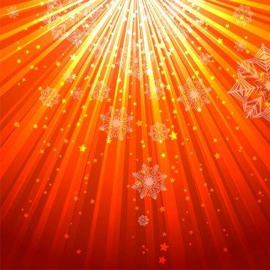 illustration of shining holiday background