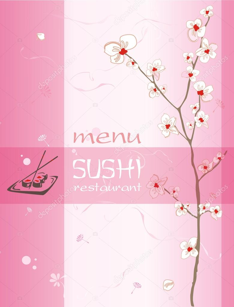 Trendy restaurant menu background to any creative contemporary d