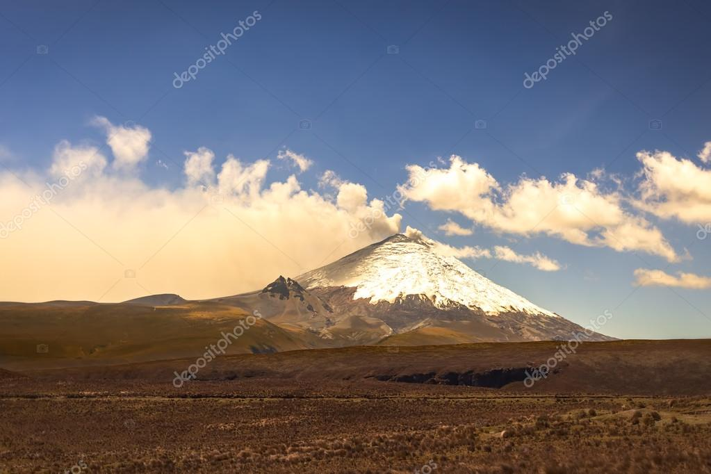 Cotopaxi Volcano, Part Of The Chain Of Volcanoes