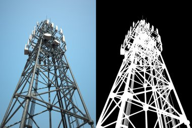 high telecommunications tower