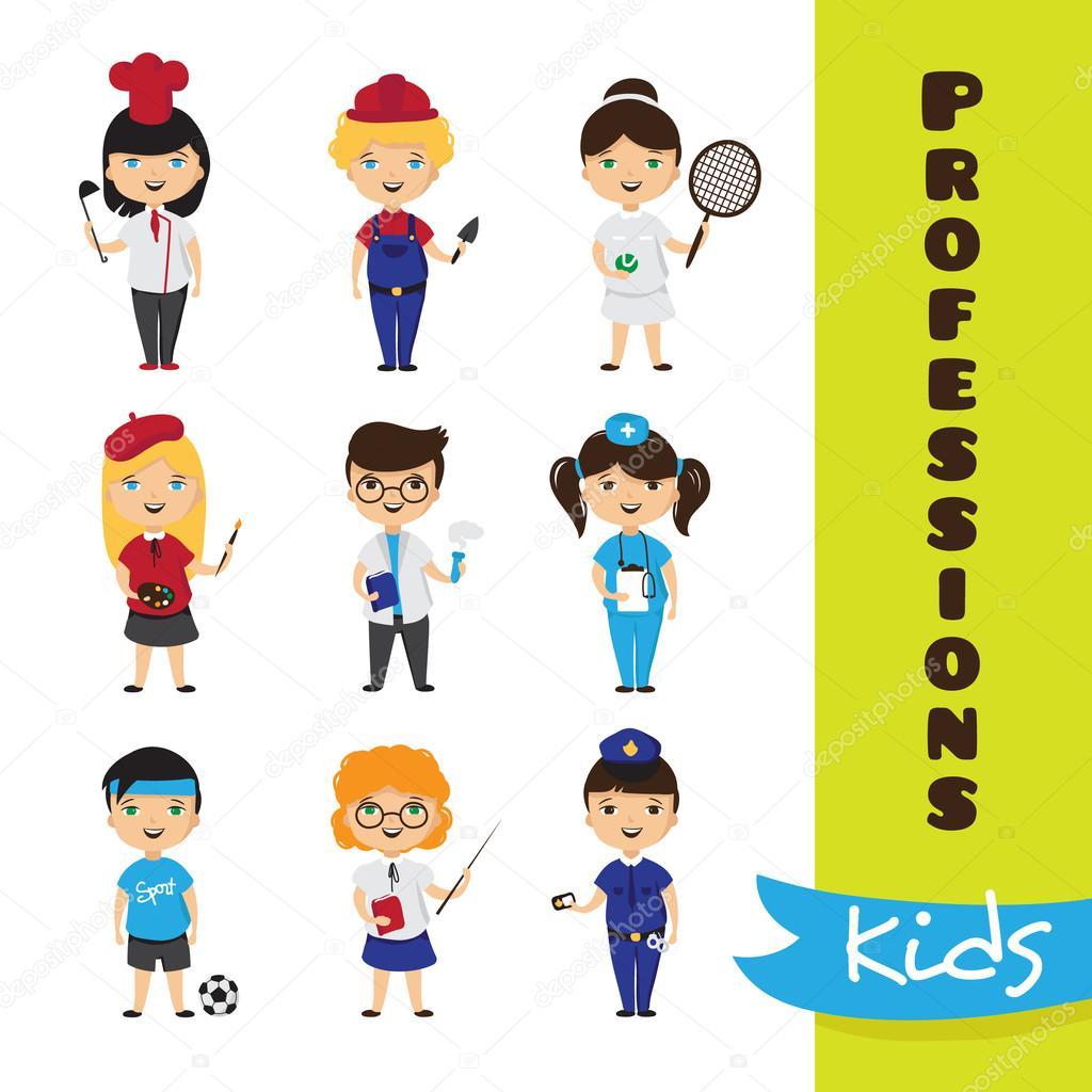 Professions Kids Art