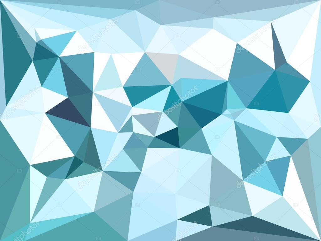depositphotos_80981002 stock illustration vector low poly background blue