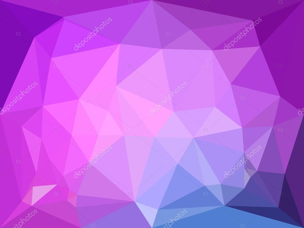 vector low poly background abstract diamond background in violet