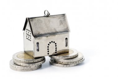real estate investment on reliable foundation, small  model hou