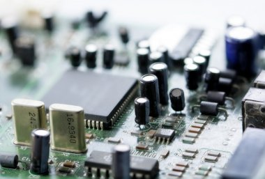 electronic circuit board, macro
