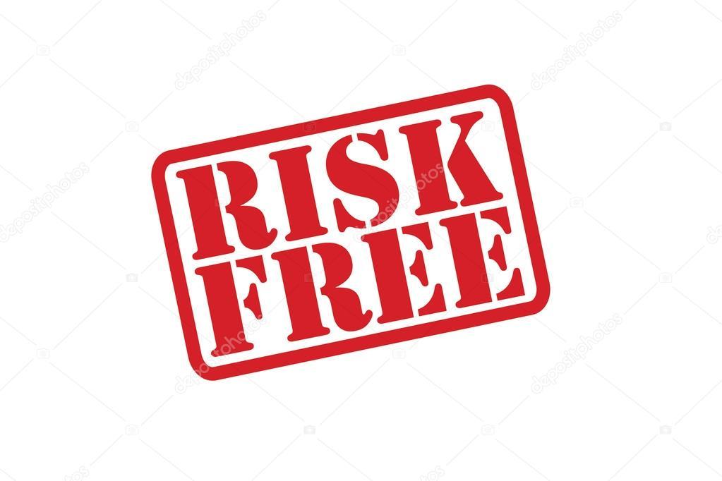 Risiko Gratis Stempel Vektor Auf Weißem Hintergrund Stockvektor