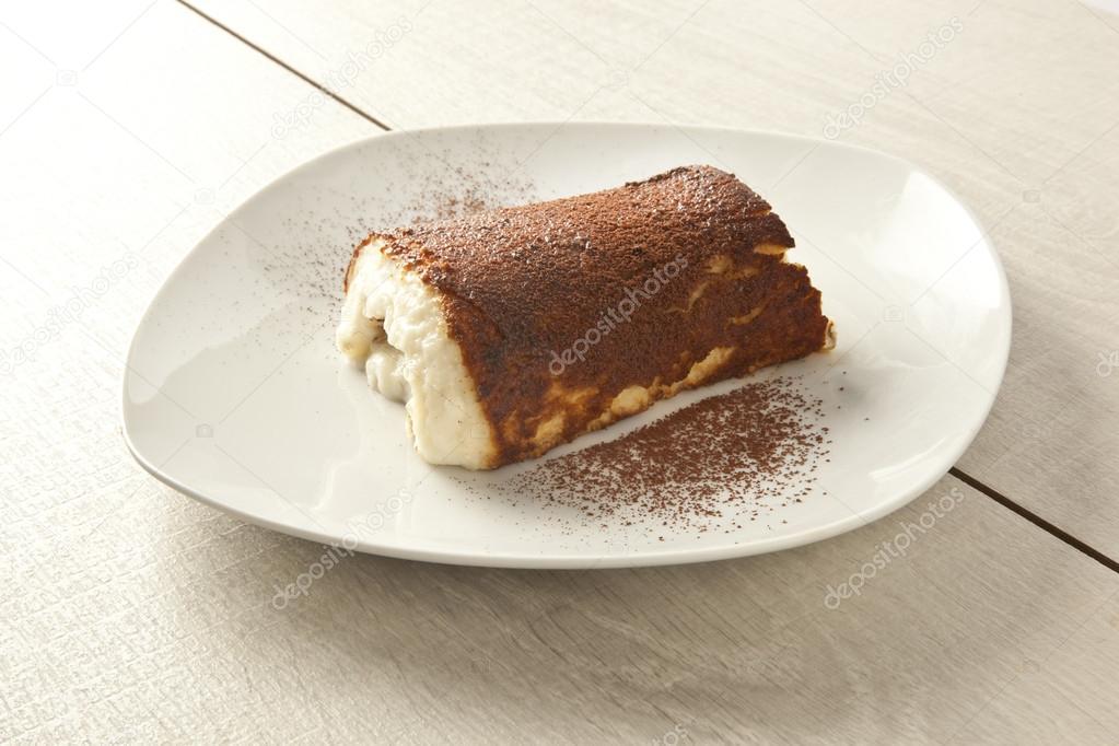 Kazandibi Gebacken Milch Pudding Turkische Dessert Stockfoto