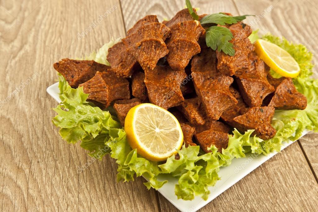 Cig kofte turks eten stockfoto gorkemdemir 61724873 - Snack eten ...