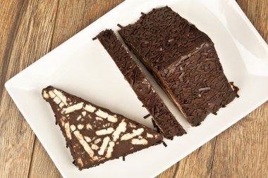 Mosaic Chocolate and Biscuit Cake