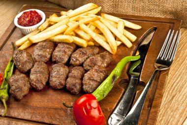 Delicious Turkish Kofte (meatballs)