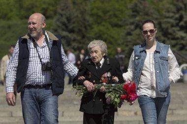 Woman war veteran