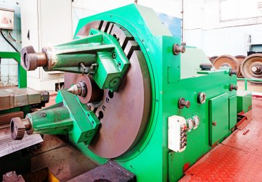 part of the lathe