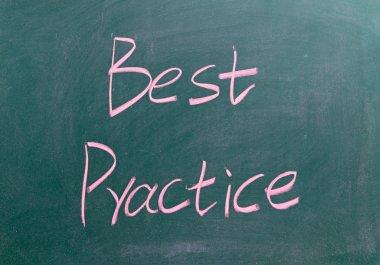 Best Practice sign on blackboard