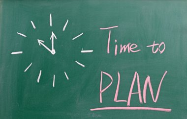 Time to PLAN sign