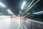 Auto nachts unterwegs