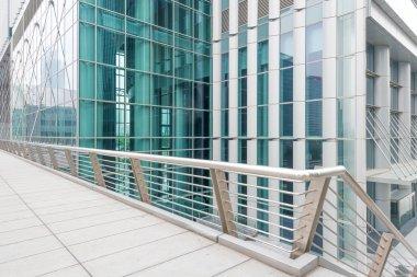 modern glass building