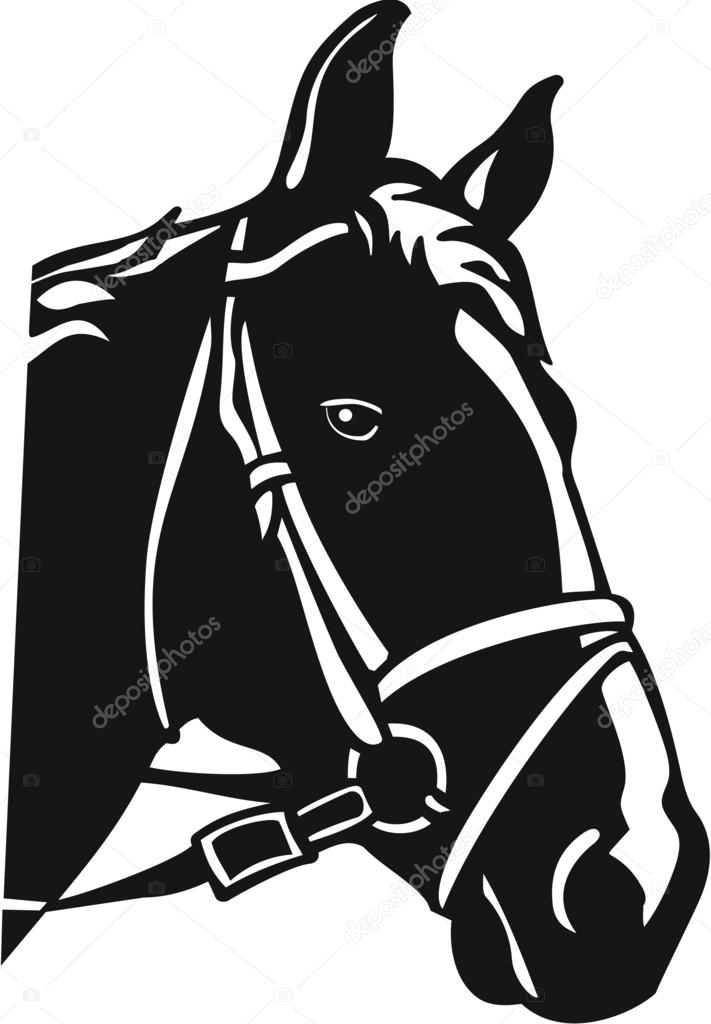 Horse Head Stock Vector C Alliedcomputergraphics 52853131