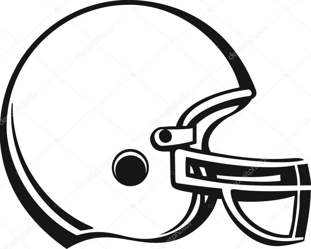 football helmet stock vector alliedcomputergraphics 52855419 rh depositphotos com football helmet vector free football helmet vector logo