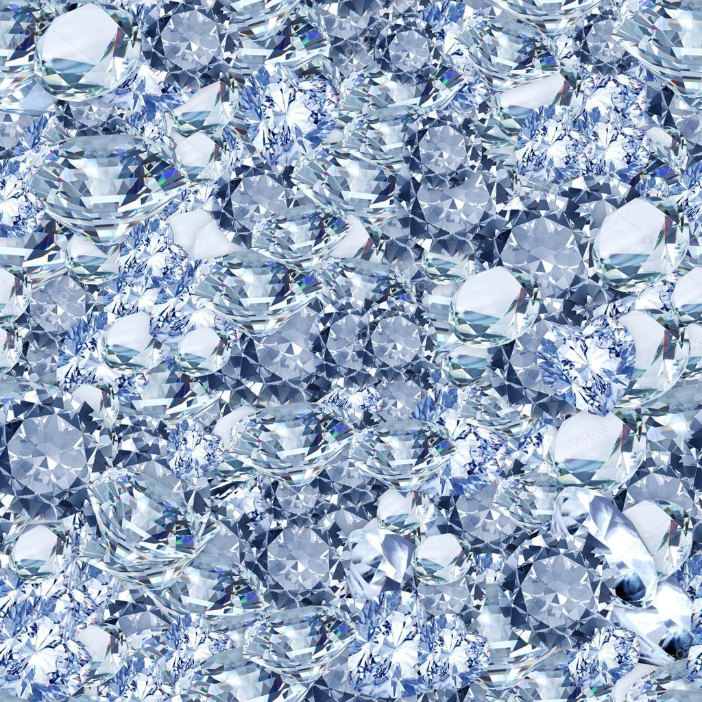 Diamonds Seamless Texture Tile Stock Photo