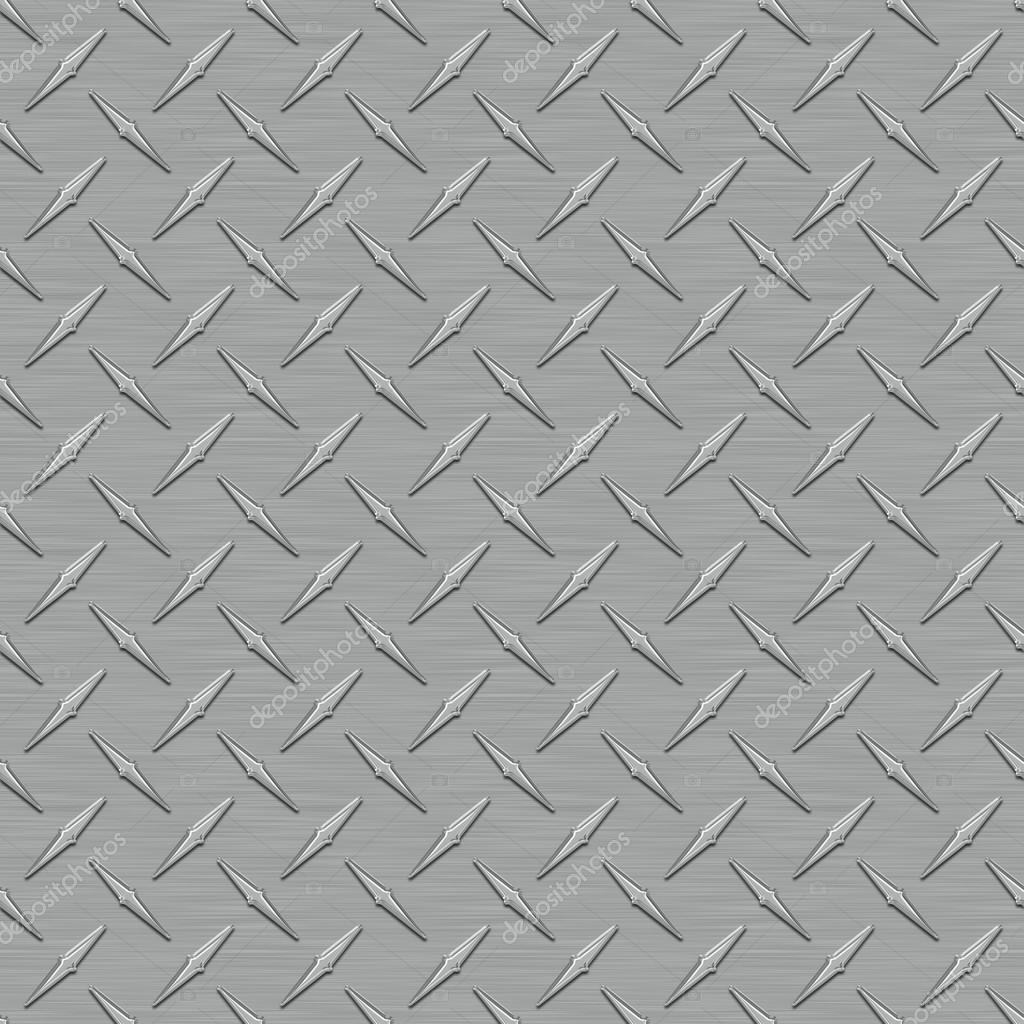 Dark Gray Diamondplate Metal Seamless Texture Tile — Stock Photo ...