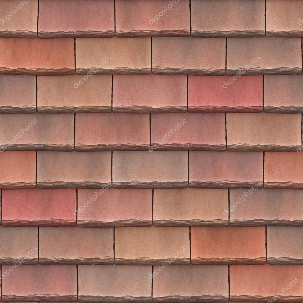 Dachziegel textur seamless  Textur-Dachziegel Beton Kies — Stockfoto #54221237