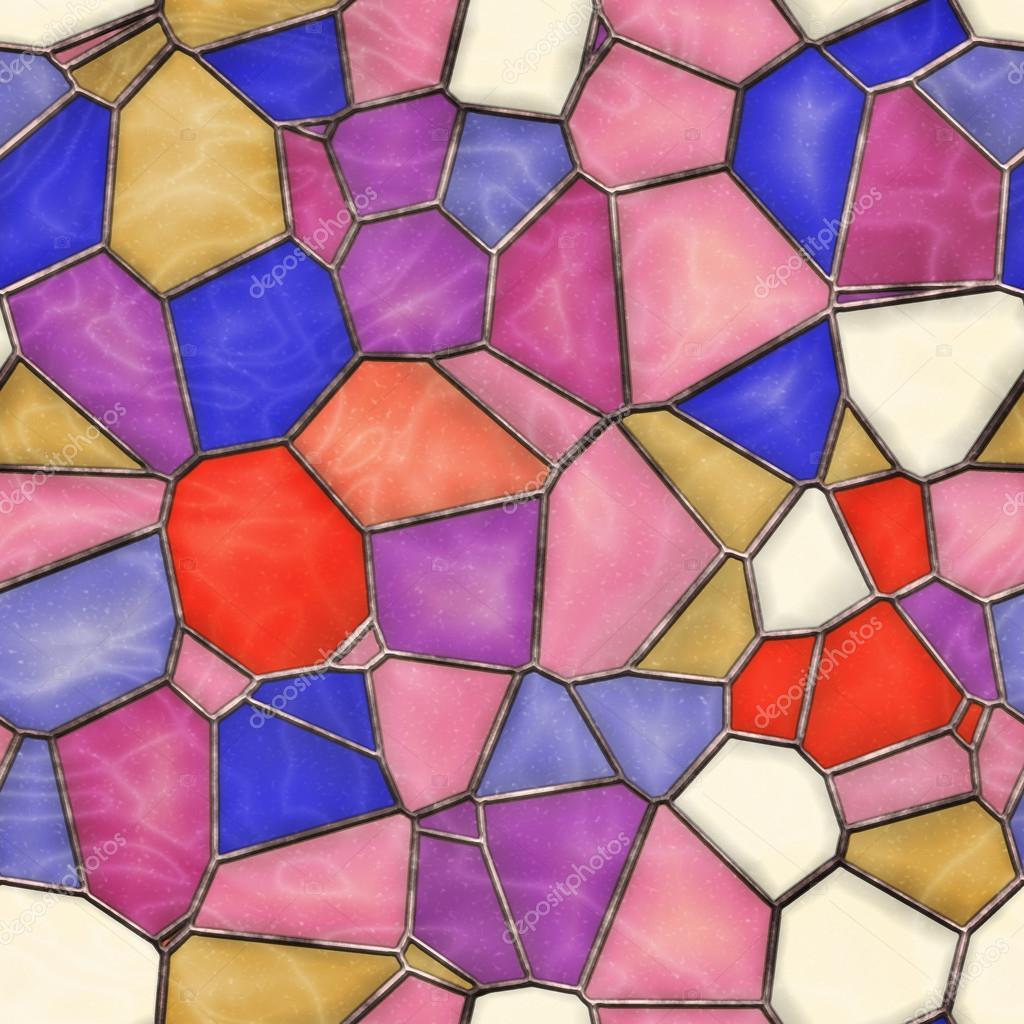Mattonelle Di Vetro Colorato Seamless Texture U2014 Foto Di  AlliedComputerGraphics