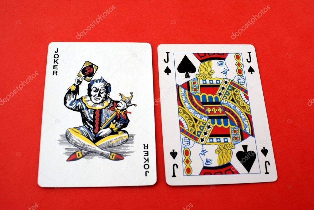 Karty Do Gry Gry Hazardowe Gra Joker Idealna Kanalia O Jack Pik
