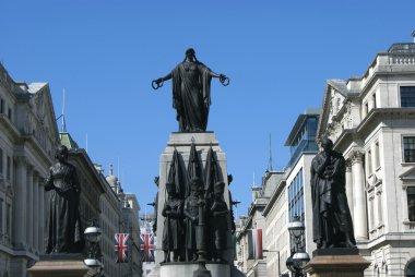 Florence Nightingale statue. Crimean War Memorial, Waterloo Place, London, England