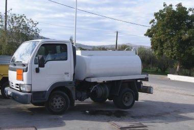 Tank truck. tanker truck. petrol tanker. tanker
