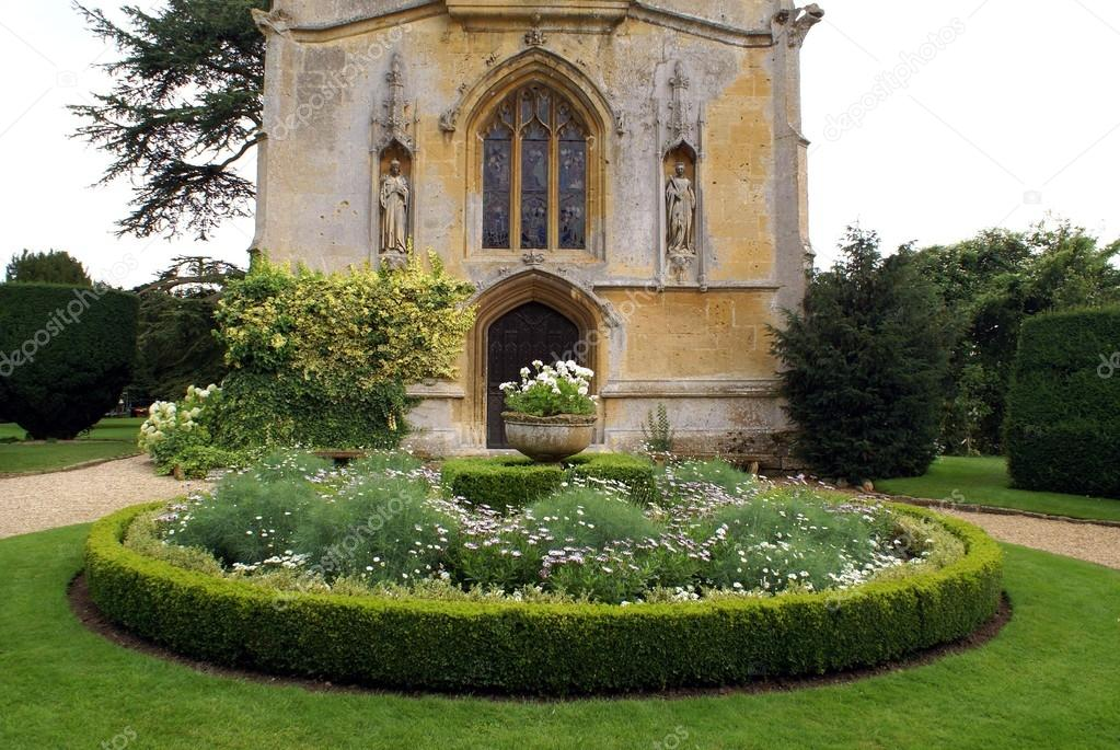 Sudeley Castle Church Garden in England